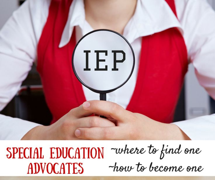 how to find or become special education advocate