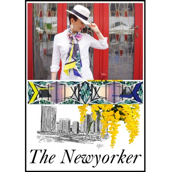 The Newyorker - Chiara's Coffee Table by lio-he on Polyvore