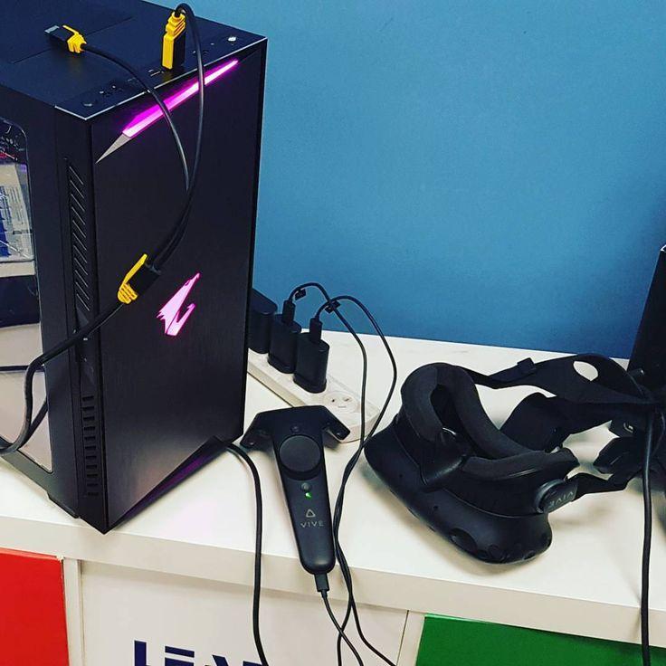 VR is here! We've got you covered . . . . . #vr #virtualreality #ar #artificialintelligence #ps4 #360 #htcvive #gaming #tech #technology #augmentedreality #cyberpunk #oculus #vrchat #xbox #3d #oculusrift #gamer #mixedreality #google #design #videogames #ai #blockchain #pippostech #corsair #gigabyte  #Riverland