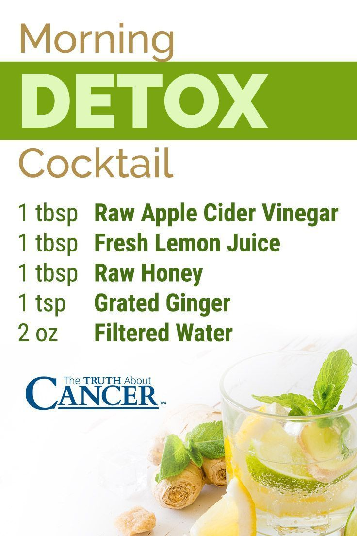 Your new morning drink! Detox Cocktail: 1 tbsp Raw Apple Cider Vinegar, 1 tbsp Fresh Lemon Juice, 1 tbsp Raw Honey, 1 tsp Grated Ginger, & 2 oz Filtered Water. For more ways to prepare for a detox cleanse, click on the image above to read on as Dr. David Jockers discusses 12 strategies to get the best detox cleanse possible. Please re-pin. Together we can educate the world about healthy lifestyle!