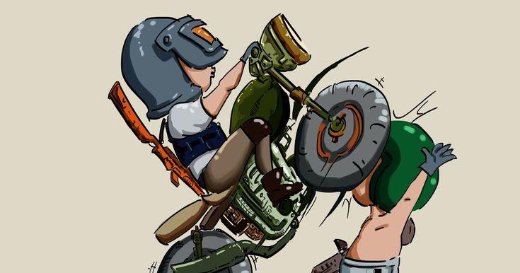 29 gambar kartun hd pubg playerunknowns battlegrounds