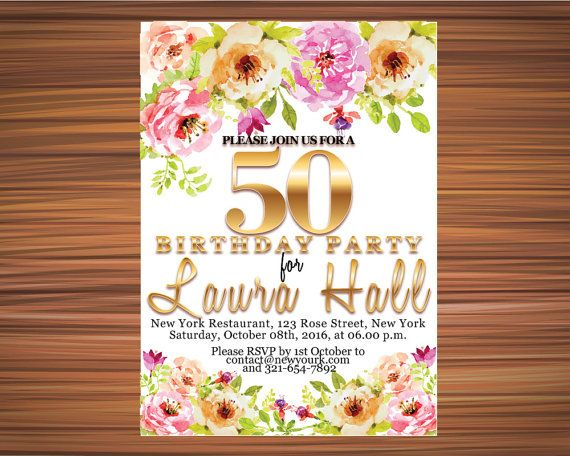 BOHO BDAY INVITATION Bohemian Bday Invitation by UniqueGoldenCards