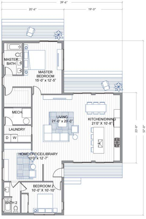 Las 25 mejores ideas sobre plano de sala abierto en for Planos de la cocina