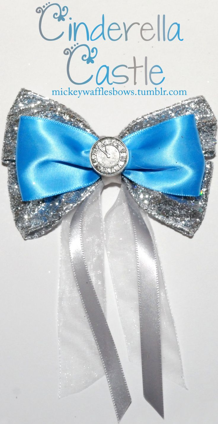 OMGOSH! These are soooo cute! Tons of different types of Disney bows!
