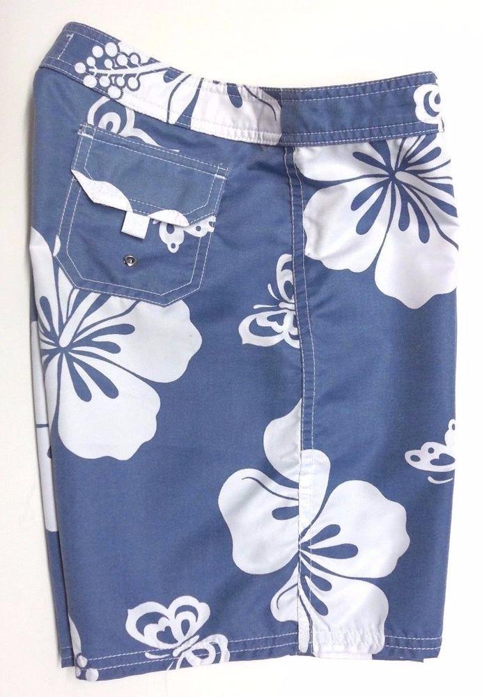 Pipeline Junior/'s Surf Swim Board Shorts Blue Multi Color Polka Dot
