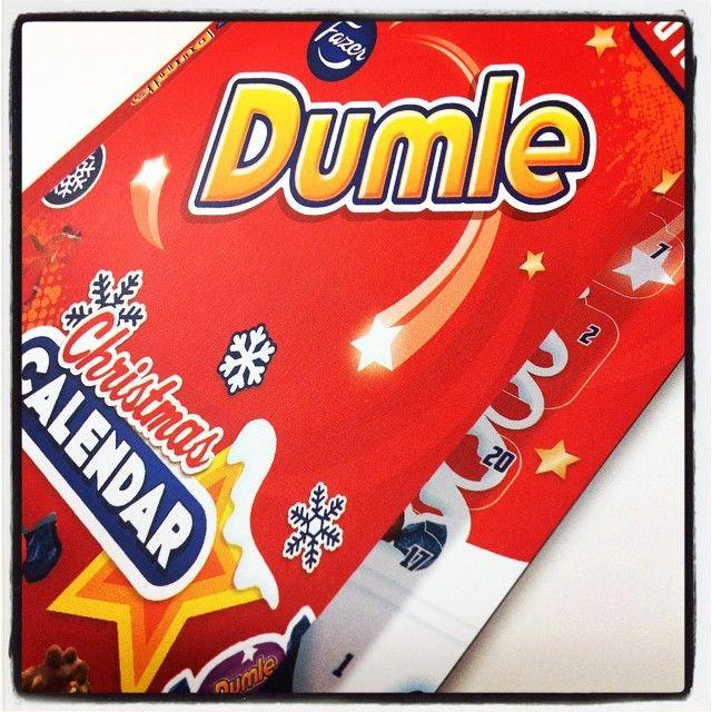 Uupuuko sinulta #joulukalenteri? Kipaise osoitteeseen: www.fazer.fi/joulukalenteri #dumle #suklaajoulukalenteri