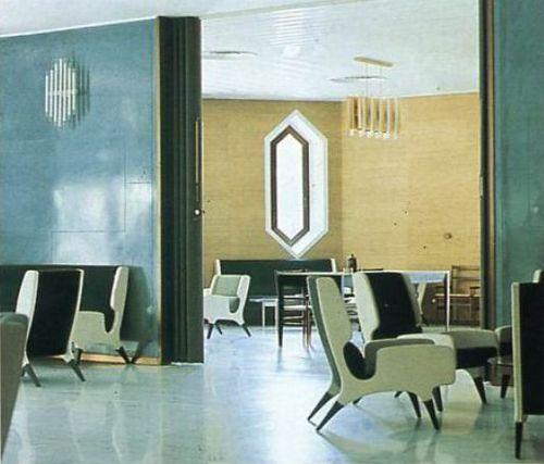 Giò Ponti, Hotel Parco dei Principi, Sorrento