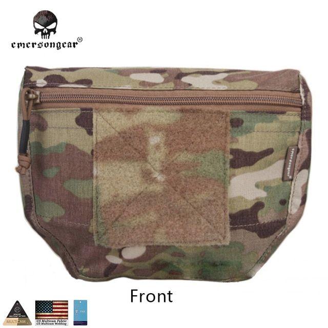 Combat Vest Waist Fanny Pack Outdoor Sport Game Molle Pouch Bag for AVS JPC CPC