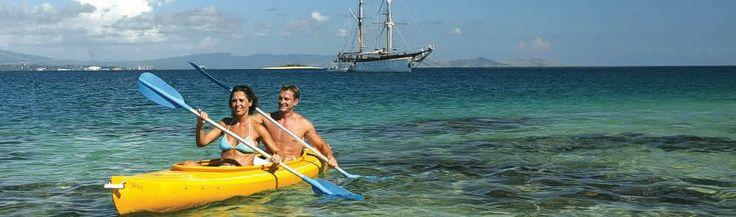 Captain Cook's Reef Endeavor: Fiji Cruises, Fiji Holiday Packages, Fiji Vacations - Captain Cook Cruises Fiji