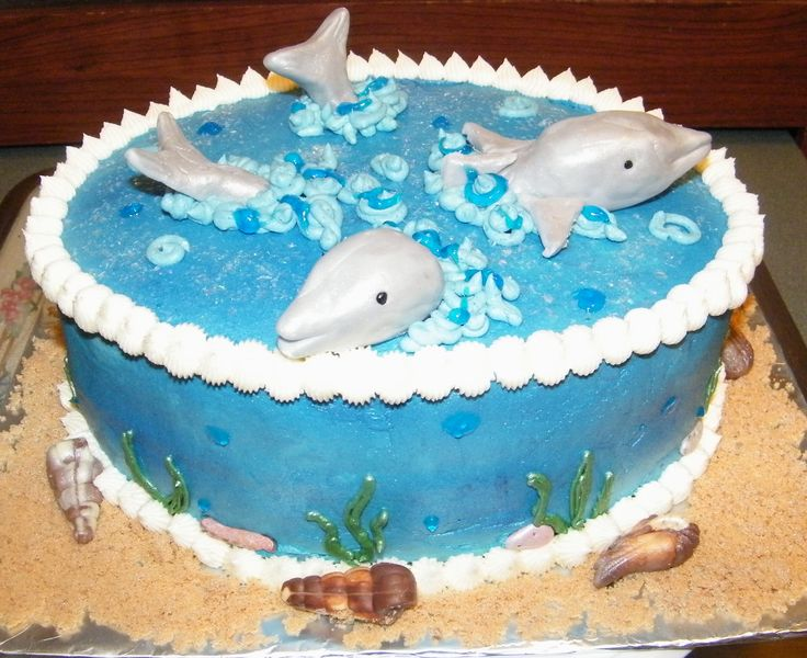 The 25 best Dolphin cakes ideas on Pinterest Dolphin birthday