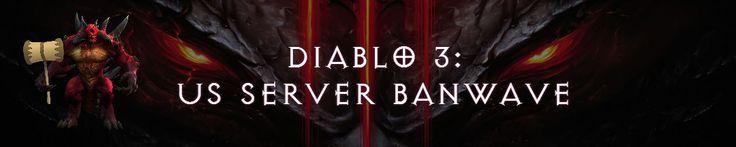 Blizzard strikes again: Another Diablo 3 US Banwave #Diablo #blizzard #Diablo3 #D3 #Dios #reaperofsouls #game #players