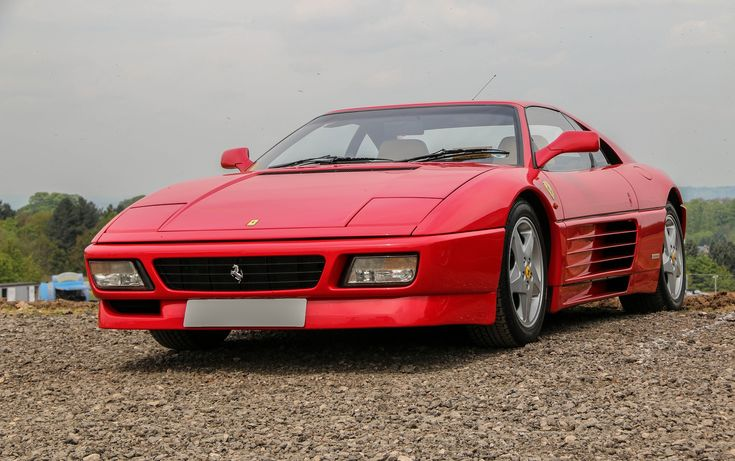 RETRO FERRARI 348 - old but priceless classic.  Get the details on our section about the Ferrari 348. Join our database and be the first to get updates on upcoming and retro vehicles. #ferrari #redferrari #retrocar #retroferraricar #ferrari348
