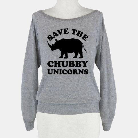 Save The Chubby Unicorns | T-Shirts, Tank Tops, Sweatshirts and Hoodies | HUMAN