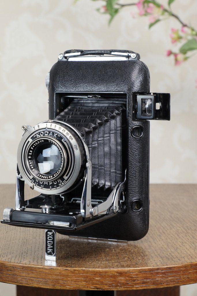 SUPERB! 1935 Kodak REGENT 6x9 Coupled Rangefinder Camera, CLA'd, FRESH – Petrakla Classic Cameras