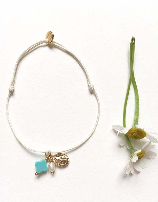 Bijoux chrétien // Bracelet catho// Cadeau communion// Bracelet croix- Catho Rétro. Le concept store chrétien www.cathoretro.com