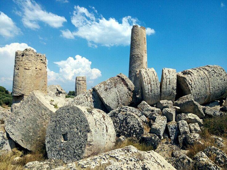 Parco Archeologico Di Selinunte in Castelvetrano, Sicilia