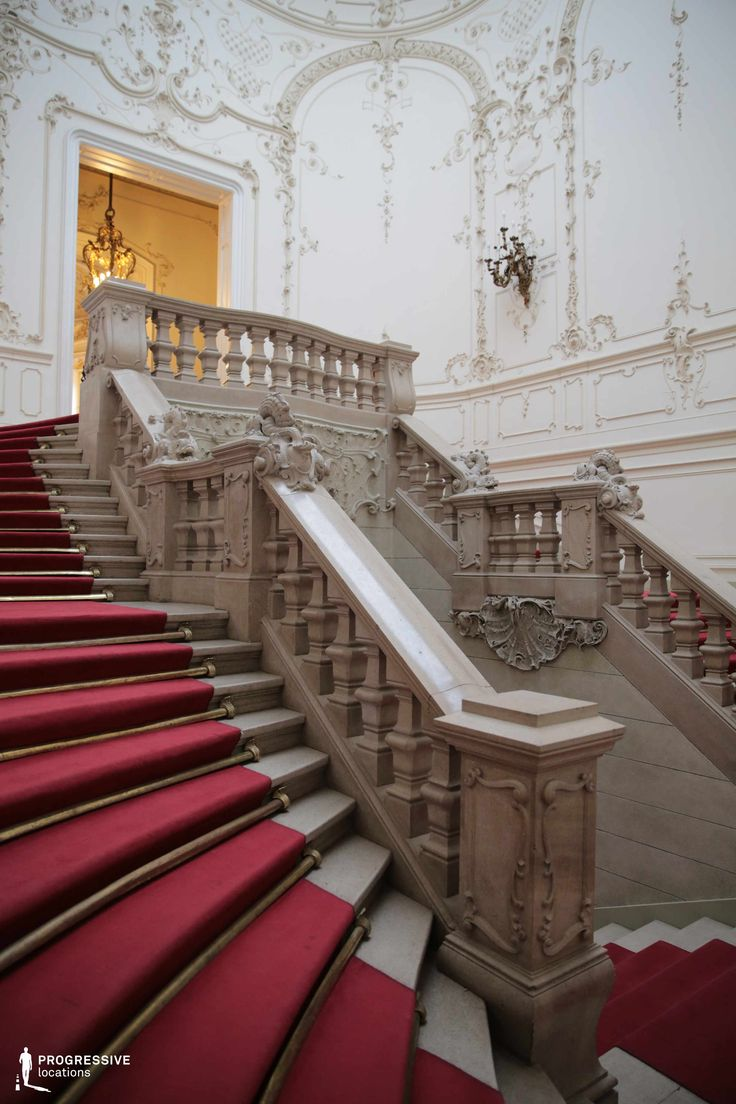 Locations in Hungary: Main Staircase, Wenckheim Palace
