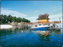 """The Sipadan Mabul Resort or """"SMART"""" resort. A great choice to dive the legendary Sipadan."""