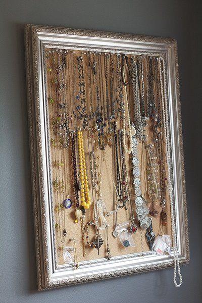 plus de 1000 id es propos de diy rangements bijoux. Black Bedroom Furniture Sets. Home Design Ideas