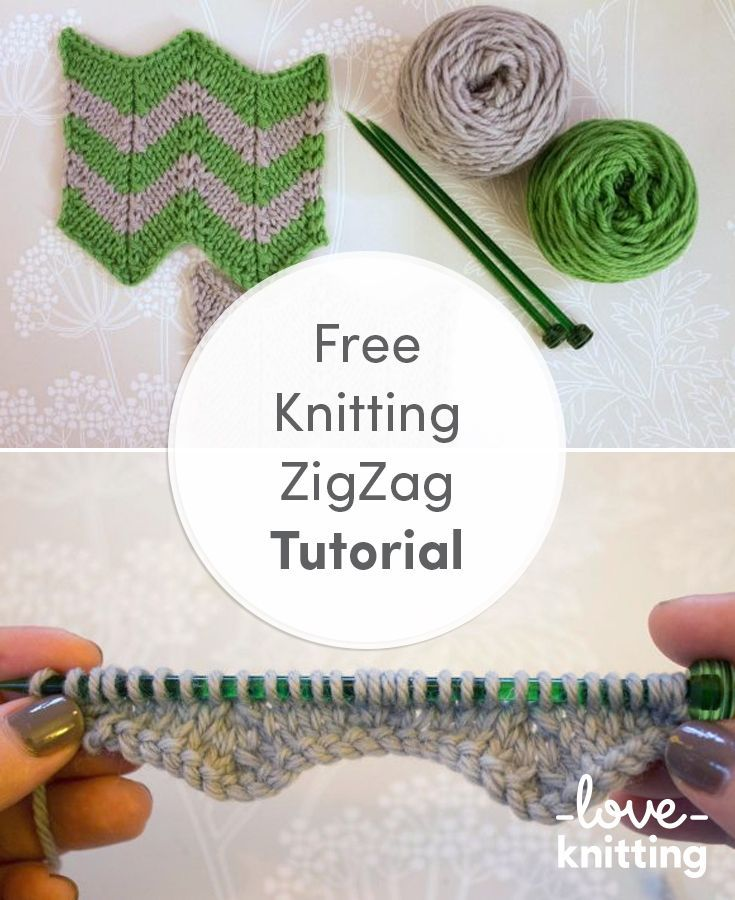 free knitting tutorial