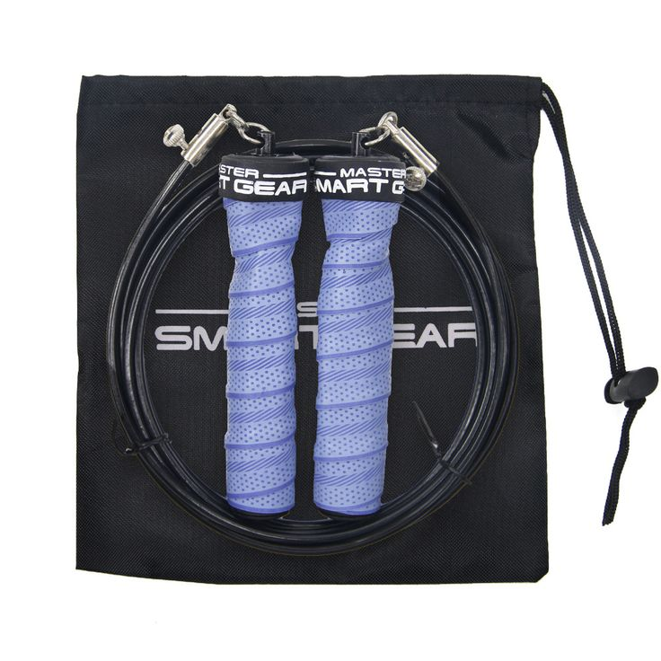 Weight Skip Rope Speed Rope Exercise and Fitness Jump Rope Crossfit Training MMA Boxing With Free Bag