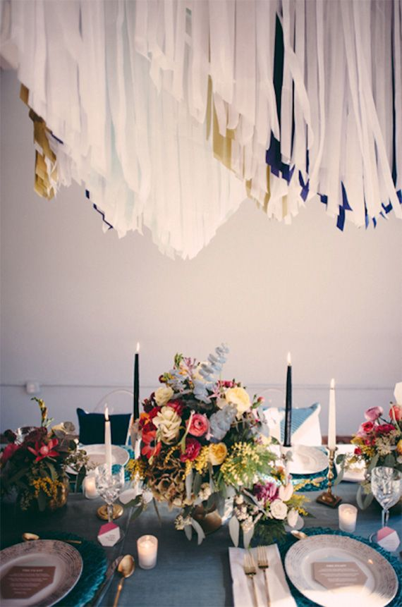 Industrial modern wedding inspiration | Photo by JBM Weddings | Read more - http://www.100layercake.com/blog/?p=72736