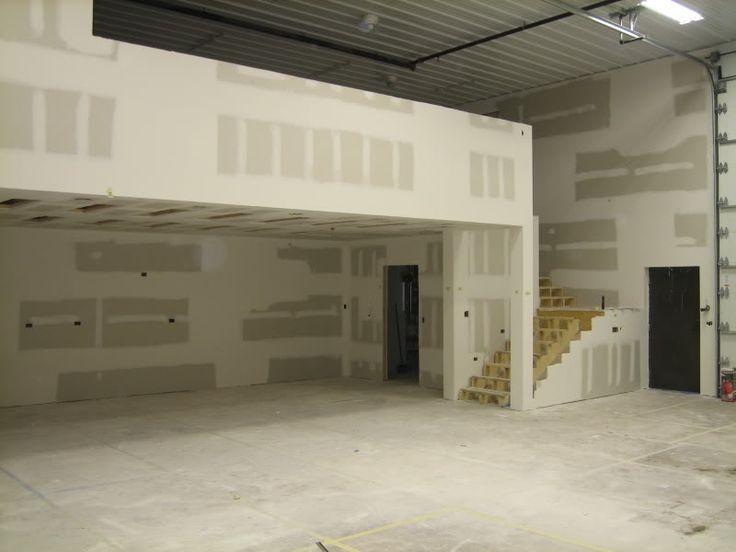 662 best shop images on pinterest garage ideas pole for Garage mezzanine ideas