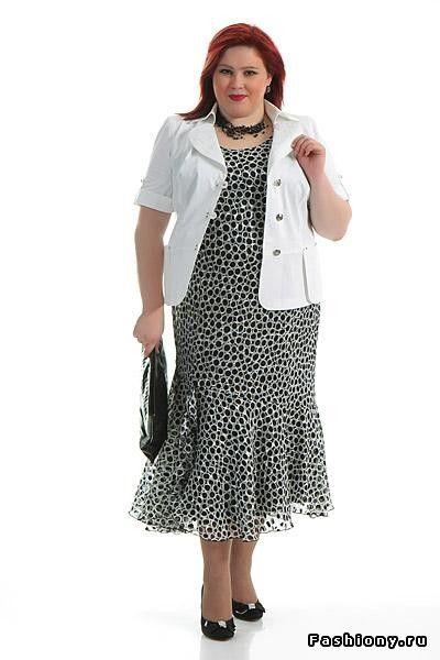 Выбор одежды для полных / одежда для полных женщин