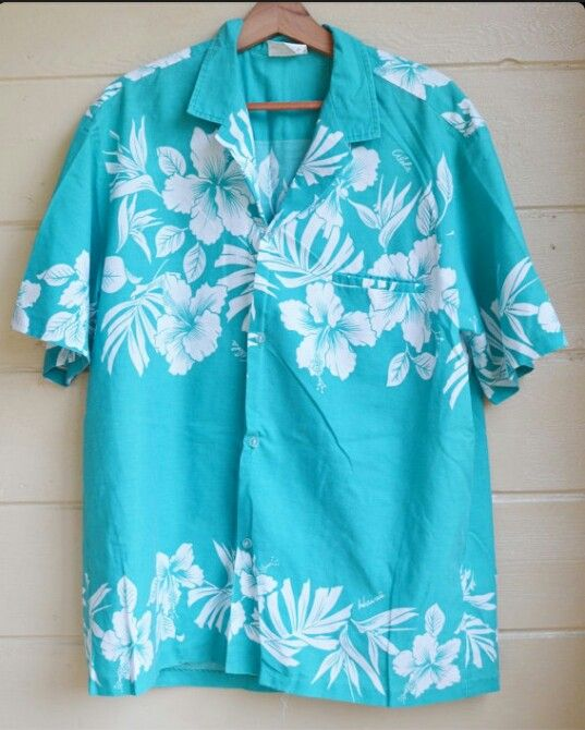 Hawiian shirt...i love the collar model