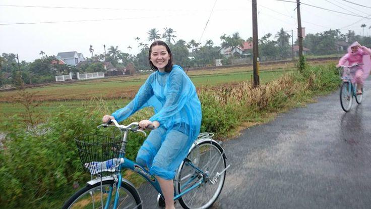 #Biking through the countryside. #VietnamSchoolTours #Cycling #Countryside