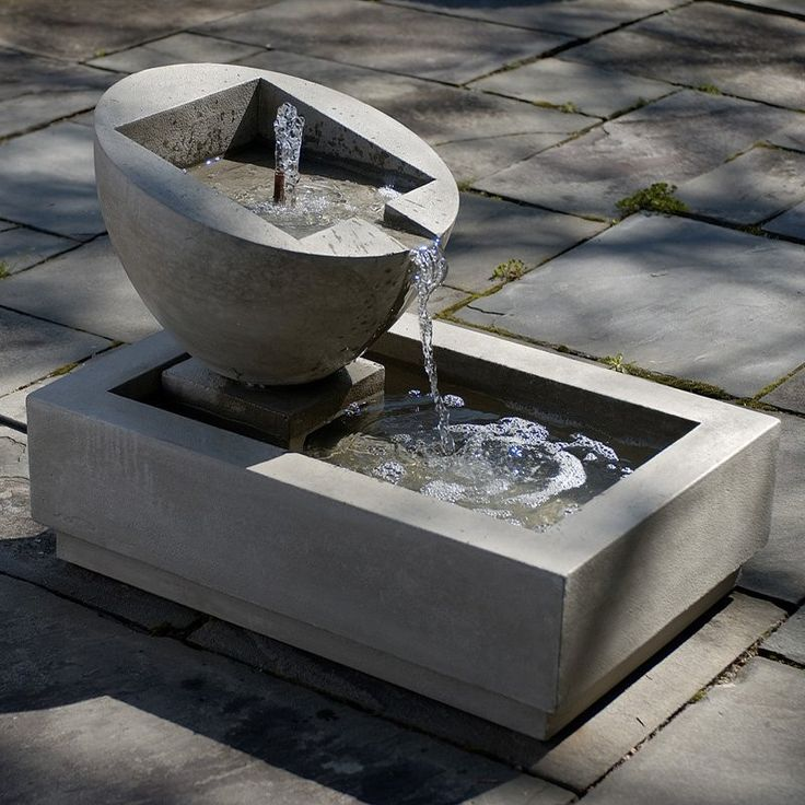 Free Shipping and No Sales Tax on the Genesis II Garden Water Fountain from the Outdoor Fountain Pros.