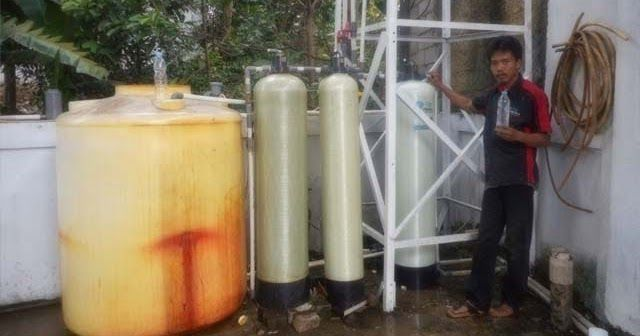 Pemasangan Filter Air Vittera FR12 di Pomp Bensin Tanjung Barat