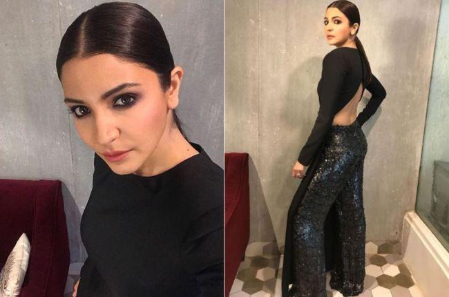 Anushka Sharma goes backless and sizzling