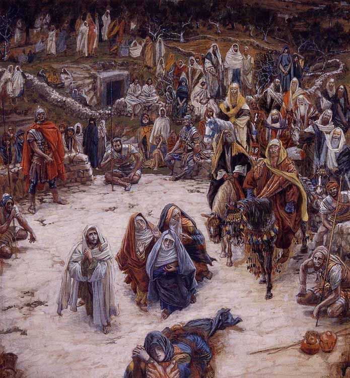 Tissot, What Our Savior Saw from the Cross