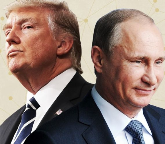Trump took word of Putin over FBI, CIA, NSA, & his directors & national security team - Mike Rogers, Trump's NSA Director; Dan Coats, Trump's Director of National Intelligence; & Mike Pompeo, Trump's CIA Director. - Not in bed w/ the Russians.. hmm? ..& in the remaining 2 hrs negotiated Middle-East peace that usually takes years to set up just the negotiating table - which of course isn't worth Trump's handshake.