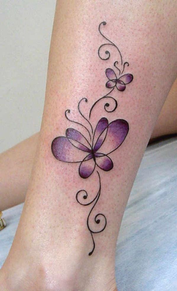 Butterfly Leg Tattoos Tattoos For Women Flowers Butterfly Tattoo Butterfly Leg Tattoos