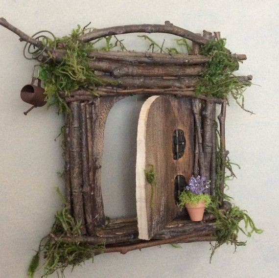 25 best ideas about fairy tree on pinterest diy fairy for Homemade fairy doors