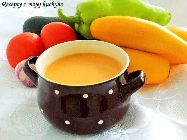 RECEPTY Z MOJEJ KUCHYNE A ZÁHRADY: Cuketová polievka so zeleninou a smotanou
