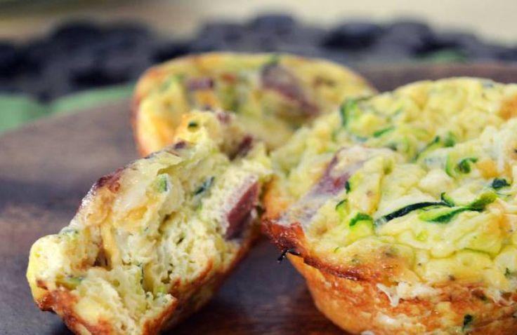 Kidsproof: hartige muffins met ham en kaas