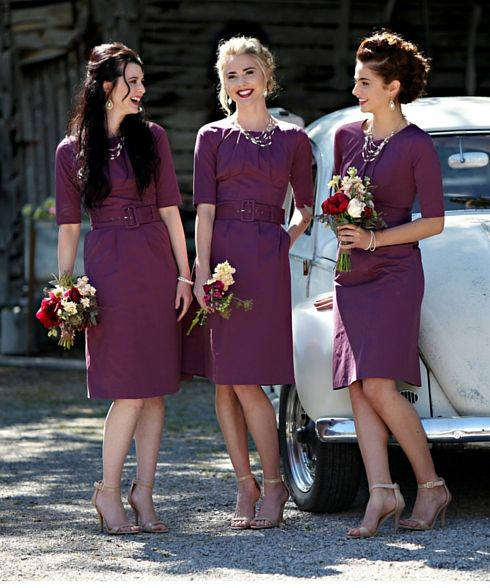 Mad about the Madeline in plum! In store now at Omika.