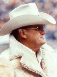 Great Houston Oiler coach Bum Phillips.   Love Ya Blue