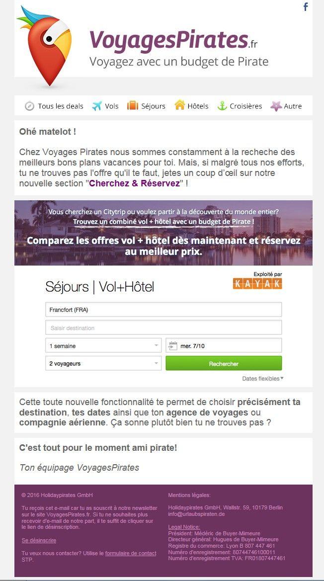 """Objet : Comment puis-je trouver mes vacances de rêves ?  Un email """"How to"""" qui peut prendre toute sa place dans le nouveau Welcome Process"""