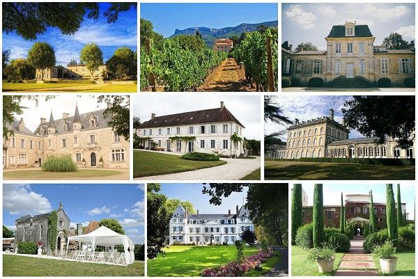 There is an eclectic range of wedding venues in France from grand Chateau, rustic farmhouses, to villas in Provence. Description from frenchweddingstyle.com. I searched for this on bing.com/images