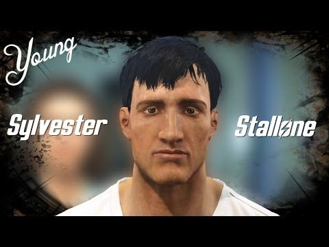 Fallout 4 Character Creation [Sped up version] Sylvester Stallone YOUNG - YouTube