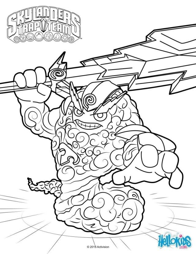 21 Brilliant Image Of Skylanders Coloring Pages Monster