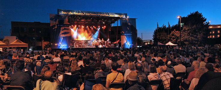 Sunlife Financial Uptown Waterloo Jazz Festival- July 18-20, 2014