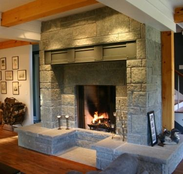 303 best fireplaces images on pinterest fireplace ideas for Large modern fireplaces