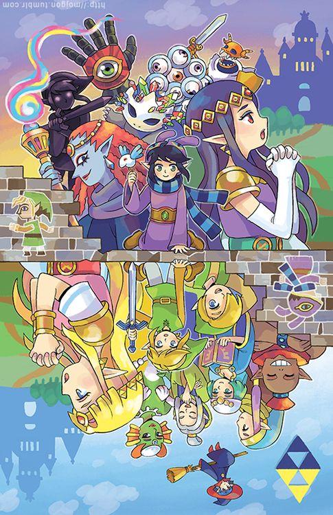 The Legend Of Zelda A Link Between Worlds By Micheladdisdeviantart