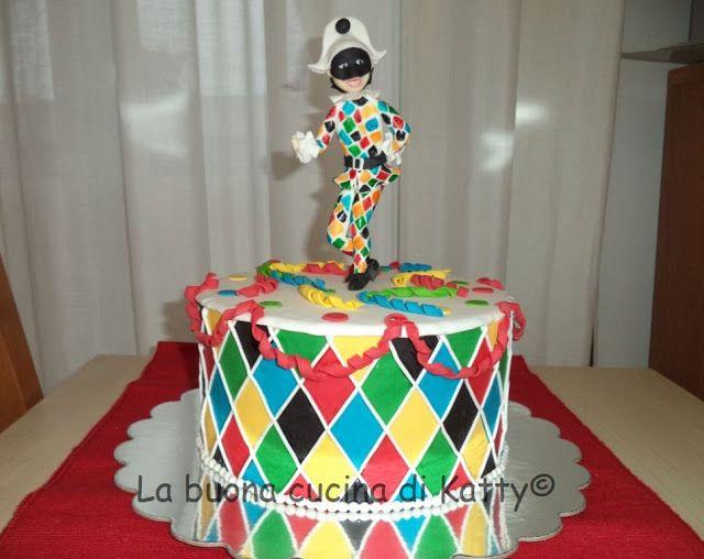 Katty's cakes - Le torte di Katty : Torta Arlecchino - Arlecchino cake