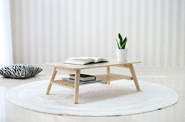Wooden Floor Table Folding Modern Low Laptop Tea Coffee Book Tables | eBay